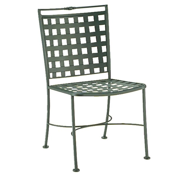 Sheffield Patio Dining Chair with Cushion by Woodard Woodard