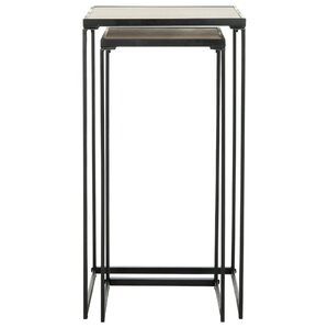 Little 2 Piece Nesting Tables by Mistana