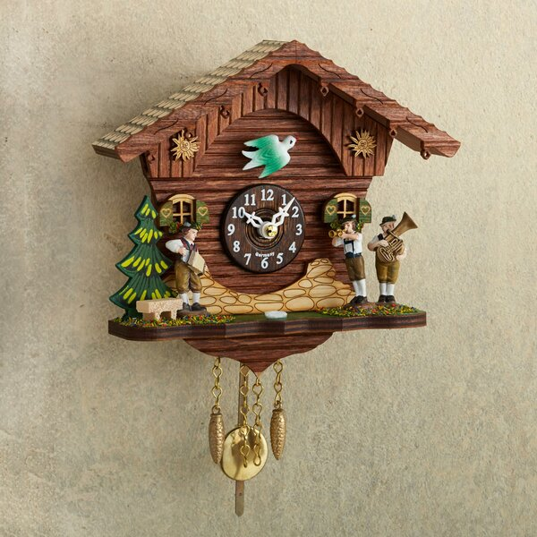 Digby Polka Band Mini Cuckoo Wall Clock by World Menagerie
