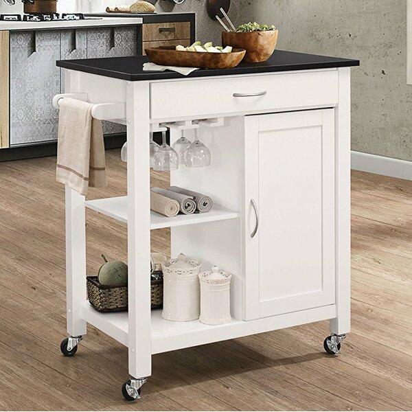 Furtado Wheeled Kitchen Cart by Ebern Designs