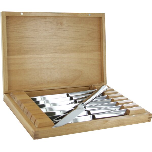 Stainless Steel Steak Knife Set with Presentation Case (Set of 8) by Zwilling JA Henckels