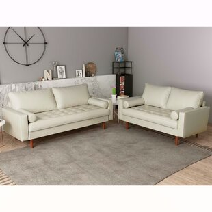 Scarberry Faux Leather Living Room Set by George Oliver