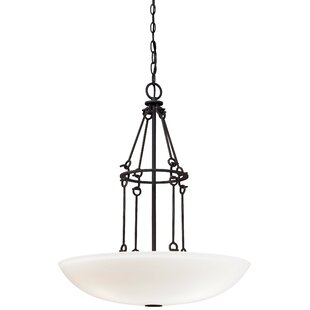 Affordable Kingsgate Kona 3-Light Bowl Pendant By Minka Lavery