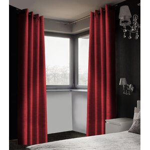 maroon shower curtain set. Arends Solid Blackout Thermal Grommet Curtain Panels  Set of 2 Three Posts Curtains Drapes Birch Lane