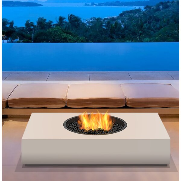 Martini Freestanding Stainless Steel Propane/Natural Gas Fire pit by EcoSmart Fire