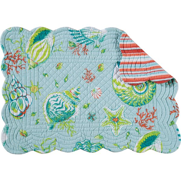 Laguna Placemat (Set of 6) by C&F Home