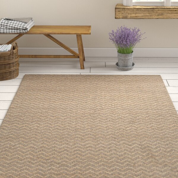 Hammonton Textured Contemporary Natural Area Rug by Gracie Oaks