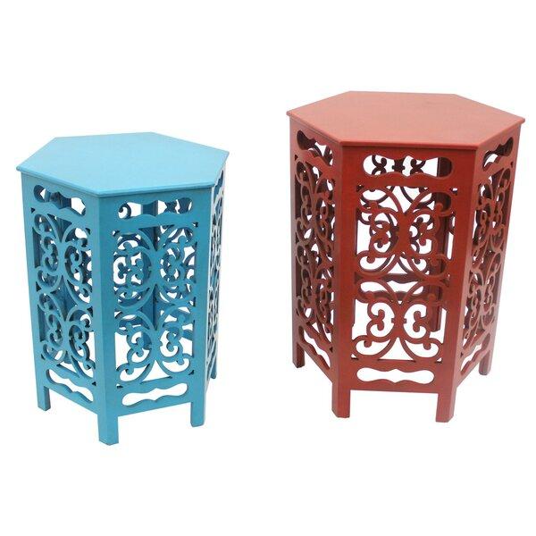 Compare Price Jordi 2 Piece Nesting Tables