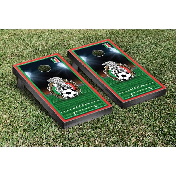 NCAA Soccer Field Version 1 Cornhole Game Set by Victory Tailgate