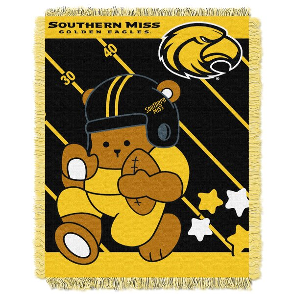 Collegiate Southern Mississippi Baby Throw by Northwest Co.