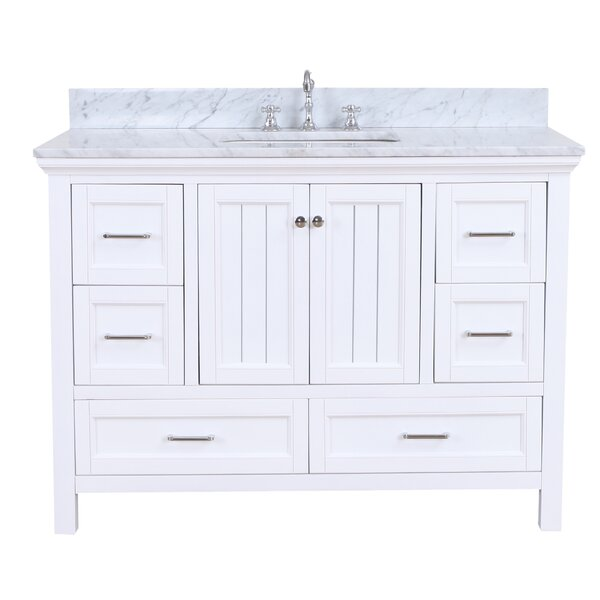 Paige 48 Single Bathroom Vanity Set by Kitchen Bath Collection
