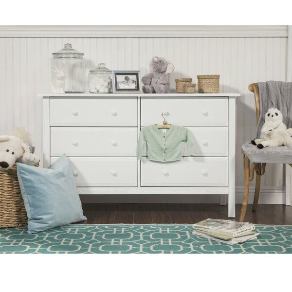 #2 Jayden 6 Drawer Dresser By DaVinci Cool