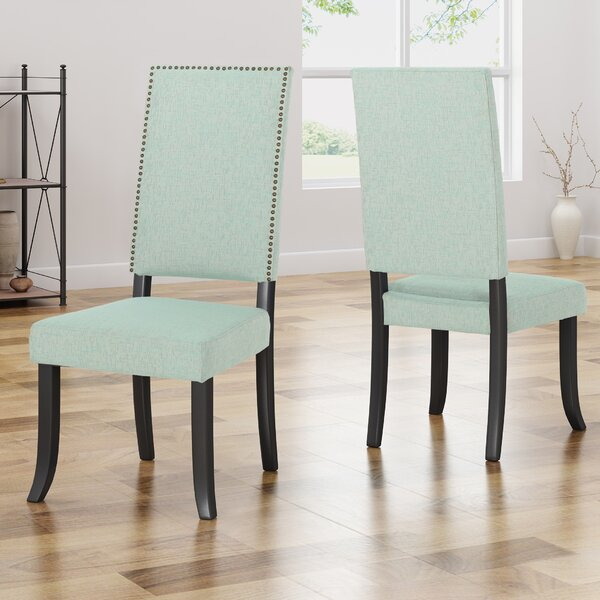 Callihan Upholstered Dining Chair (Set Of 2) By House Of Hampton Savings