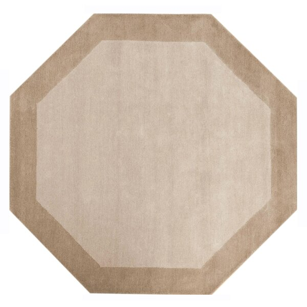 Jose Hand-Tufted Wool/Cotton Off-White Area Rug by Alcott Hill