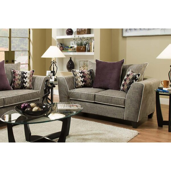 Teterboro San Miguel Char Loveseat by Latitude Run