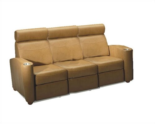 Diplomat Home Theater Sofa (Row Of 3) By Bass