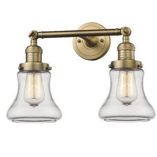 Affordable Nardone 2-Light Vanity Light By Beachcrest Home