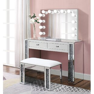 Built In Outlets Makeup Vanities You Ll Love In 2020 Wayfair Ca