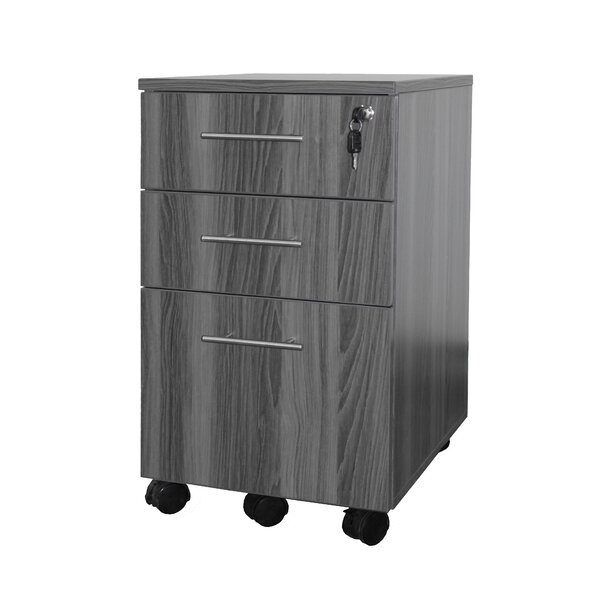 Medina Series 3 Drawer Pedestal File by Mayline Group