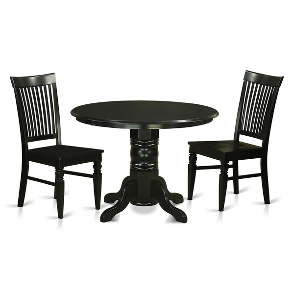 #1 Sherlock 3 Piece Dining Set By August Grove Today Only Sale