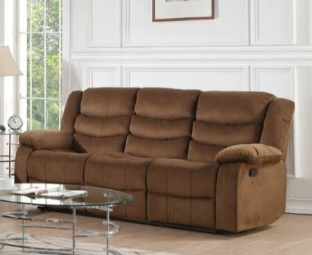 Bartolo Leather Motion Reclining Sofa by Red Barrel Studio