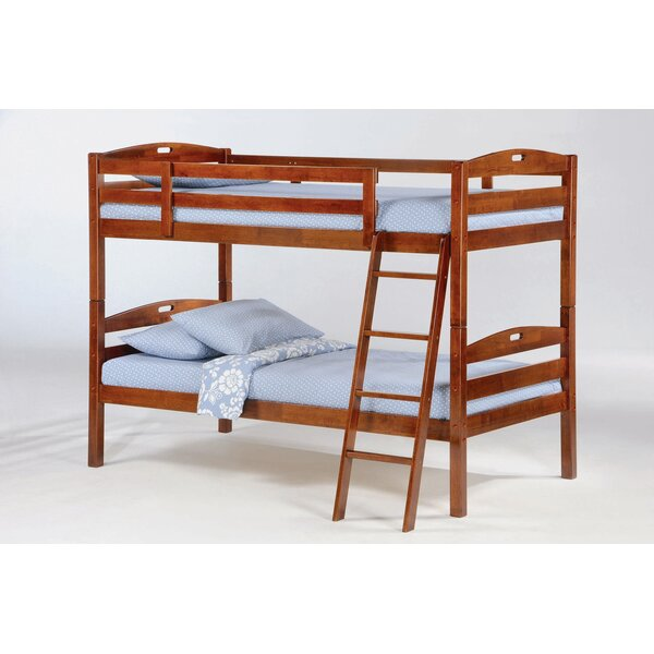 Starret Twin over Twin Standard Bed with 2 Drawers by Harriet Bee