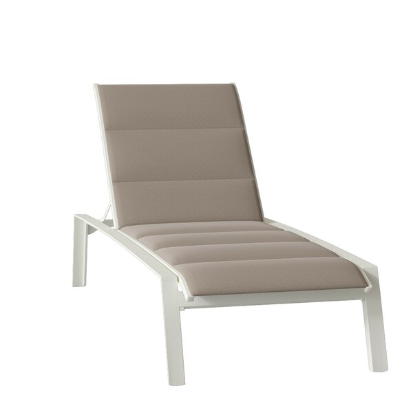 Elance Padded Sling Reclining Chaise Lounge by Tropitone Tropitone
