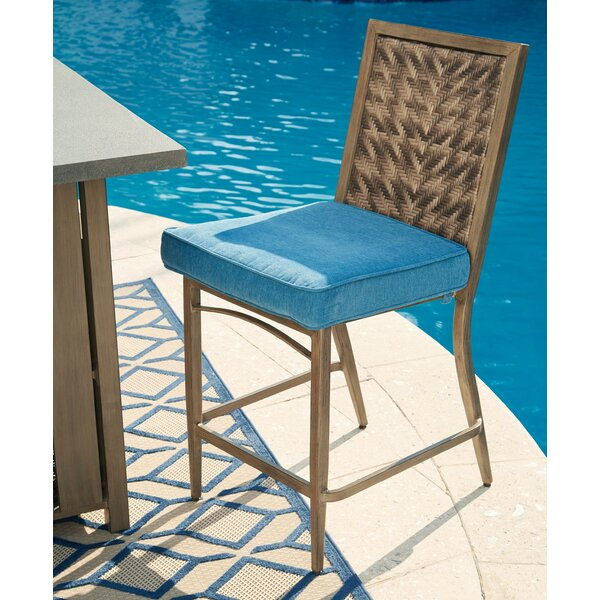 Goufes 44 Patio Bar Stool (Set of 4) by Bay Isle Home