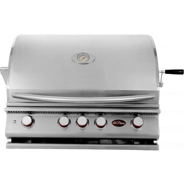 4-Burner Built-In Propane Gas Grill by Cal Flame