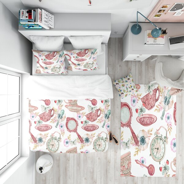 Modern Teen Duvet Cover Set by East Urban Home