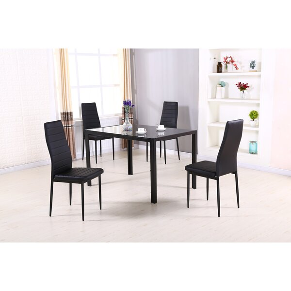 Simonton 5 Piece Dining Set by Orren Ellis