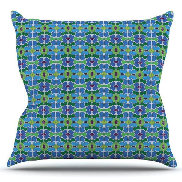 Sea Glass by Empire Ruhl Outdoor Throw Pillow by East Urban Home