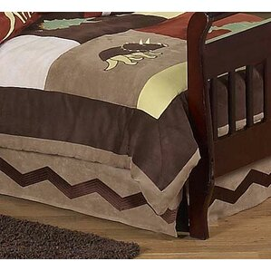 dinosaur land toddler bed skirt
