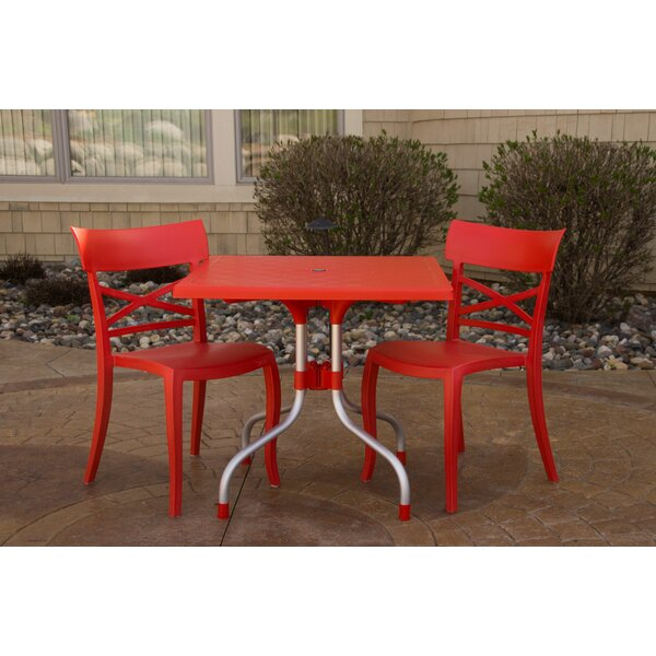 Slezak Patio 3 Piece Bistro Set by Ebern Designs