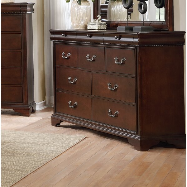Fenwick Landing 3 Drawer Double Dresser by Darby Home Co