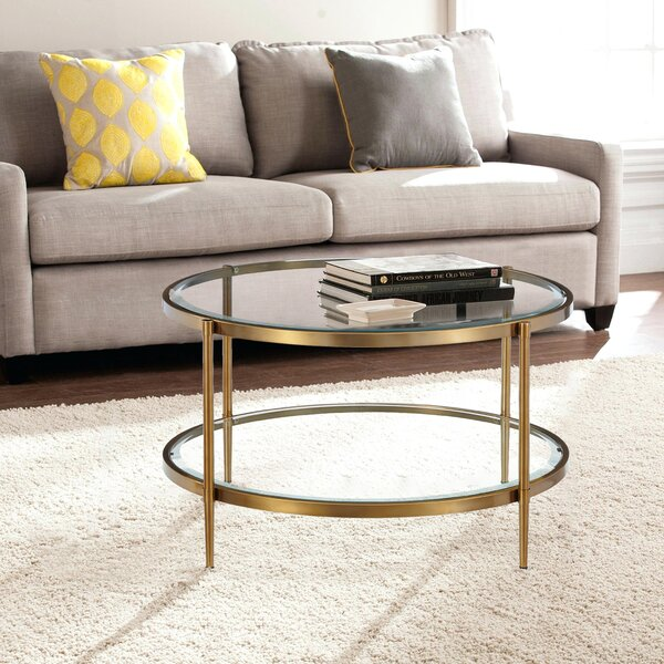 Zayden 4 Legs Coffee Table With Storage By Mercer41