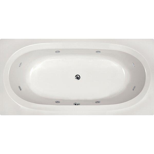 Designer Caribe 72 x 36 Whirlpool Bathtub by Hydro Systems