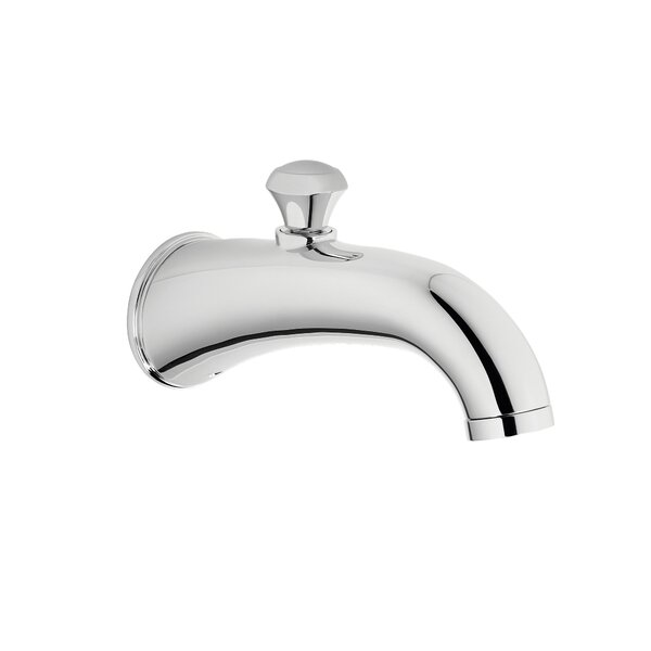 Silas  Handle Wall Mounted Tub Spout Trim With Diverter By Toto
