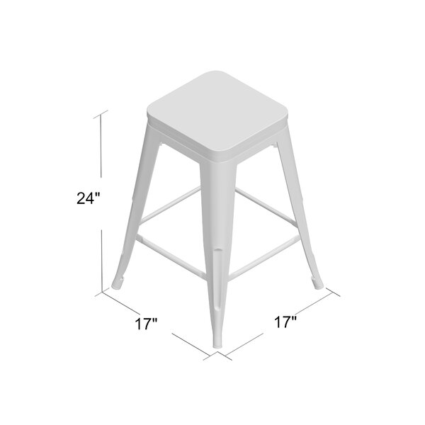 Handover 24 Bar Stool (Set of 4) by Greyleigh