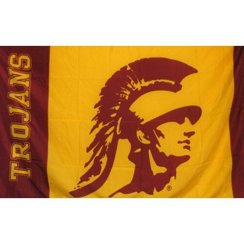 USC Trojans Polyester 3 x 5 ft. Flag by NeoPlex