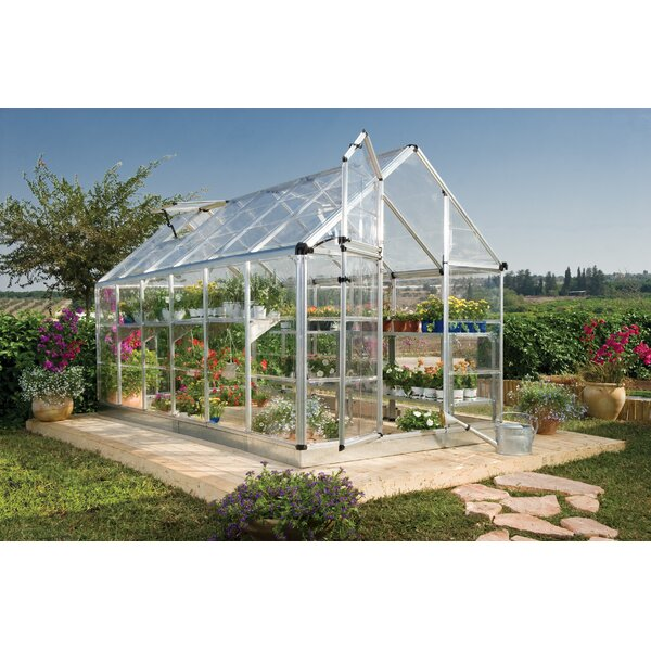 Snap & Grow 6 Ft. W x 12 Ft. D Polycarbonate Greenhouse by Palram