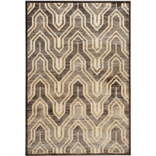 Addyson Beige/Brown Area Rug by Corrigan Studio