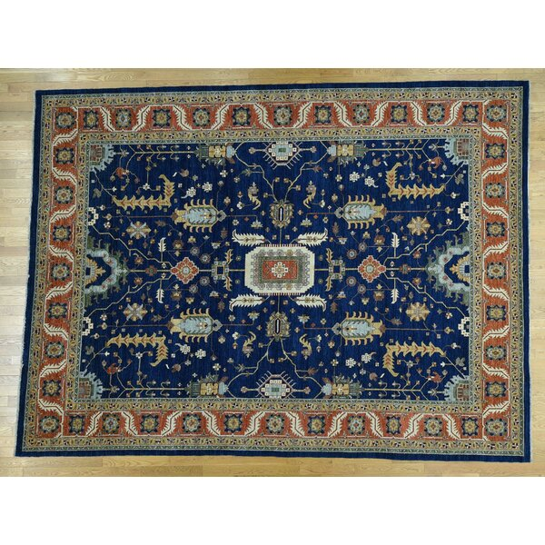 One-of-a-Kind Beare With Design Hand-Knotted Wool Area Rug by Isabelline