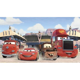 Walt Disney Kids II Cars Friends Finish Xl Wall Mural