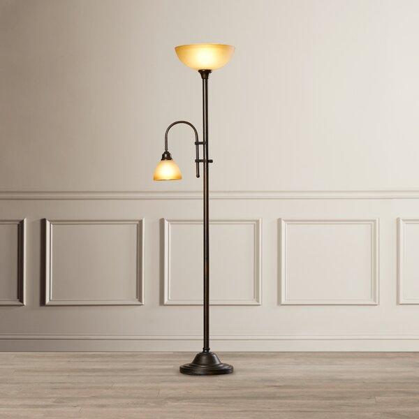 Marshallville 71.5 Torchiere Floor Lamp by Alcott Hill