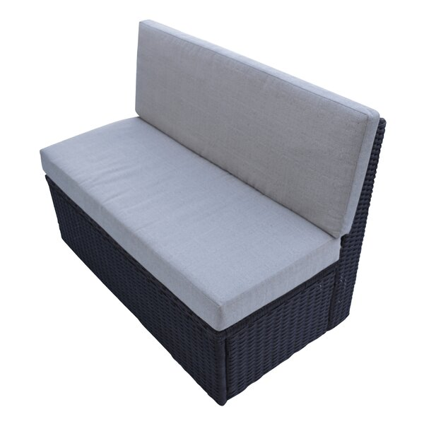 Love Seat with Cushion by Canadian Spa Co