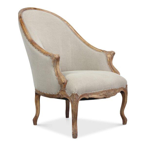 Leslie Barrel Chair by Sarreid Ltd