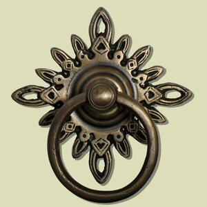 Filigree Star Backplate Ring Pull