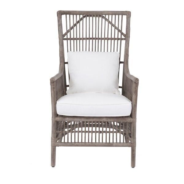 Oriana Patio Chair with Cushion by Bay Isle Home