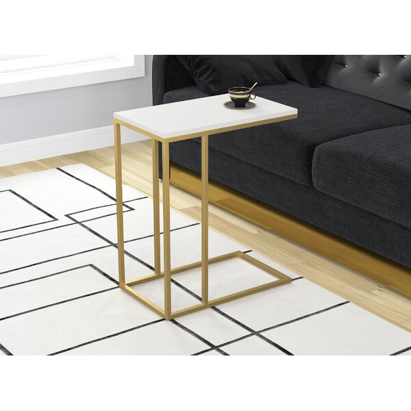 Zigler Accent Metal Frame End Table By Mercer41